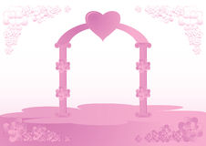 Love portal Stock Photo