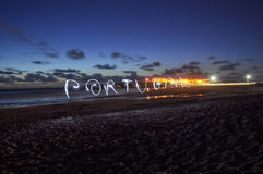 Love Portugal Royalty Free Stock Photo