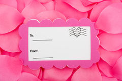 Love Postcard Royalty Free Stock Image