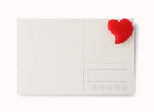 Love Postcard Royalty Free Stock Photos