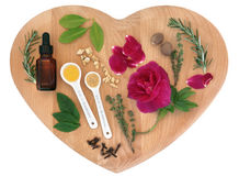 Love Potion Ingredients Royalty Free Stock Image