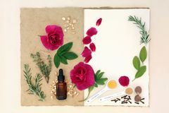Love Potion Ingredients Stock Photography