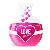 Love Potion Vector Illustration Stock Photos
