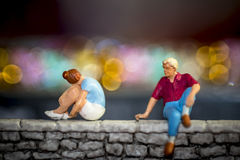 Love problems - Relationship issues stock photography