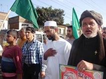 Love for Prophet, Milad un Nabbi celebration Stock Photos