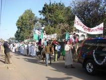 Love for Prophet, Milad un Nabbi celebration Royalty Free Stock Images
