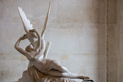 Love and psyche statue detail Royalty Free Stock Photos