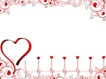 Love pulse Royalty Free Stock Photography