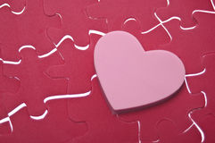 Love is a Puzzle Royalty Free Stock Photography