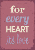LOVE quotes Stock Photos