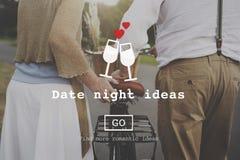Love Quotes Romance Valentines Website Concept Stock Images