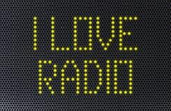 Love Radio Speaker Stock Photography