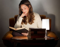 Love of reading. Stock Images