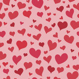 Love red heart seamless pattern Royalty Free Stock Photo
