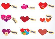 Love relationship icon. Love relationship 9 icon non text Royalty Free Stock Photo