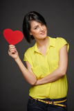 Love and relationships concept Stock Photos