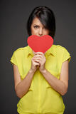 Love and relationships concept Royalty Free Stock Photography