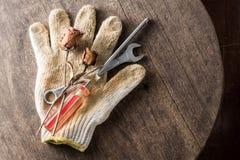 Love repair craftsman Stock Images