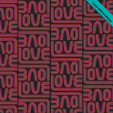 LOVE-retro pattern-02 Stock Images