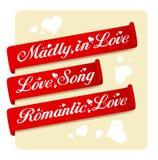 Love ribbons Royalty Free Stock Photos