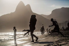 Love Rio. Love is in the air in a Beach day at Rio de Janeiro. Brasil royalty free stock photo