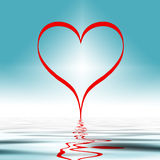 Love ripples  Royalty Free Stock Photo