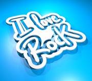 Love rock Stock Photo