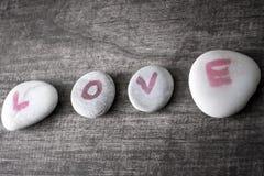 Love on rocks Stock Photography