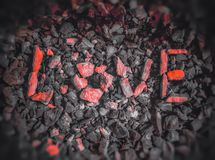 Love rocks Royalty Free Stock Photos