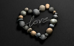 Love Rocks Your Heart, naturally Royalty Free Stock Image