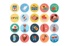 Love and Romance Flat Colored Icons 4. This is the season for love and romance around here no matter what the month. This Vector Icons Pack is absolutely full of Stock Images