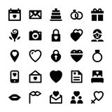 Love and Romance  icon 1 Royalty Free Stock Images
