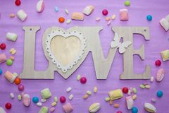 Love and romance Valentine`s day Stock Image
