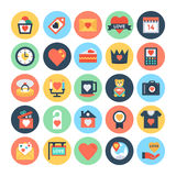 Love & Romance Vector Icons 2. Love this entire set of love and romance  icons pack. All icons related love, romance, valentine day, wedding, and happiness. This Royalty Free Stock Image