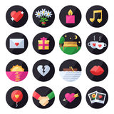 Love and romantic vector set. Icons set. Stock Photography