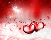 Love romanticism. Romantic background taken on may 26 , 2009 Royalty Free Stock Photo