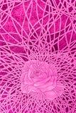 Love rose bondage drawing Royalty Free Stock Image