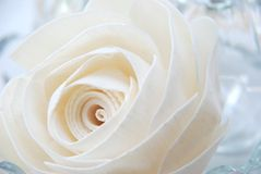 Love is ( rose paper ) Royalty Free Stock Photos