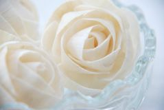 Love is ( rose paper ) Royalty Free Stock Images