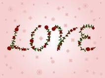 Love in roses Stock Image