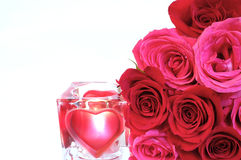 Love and Roses Royalty Free Stock Image