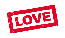 Love rubber stamp Stock Photo