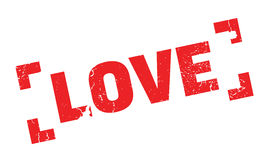 Love rubber stamp Stock Image