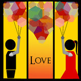 Love. It's cover for your book or can also be a simple picture that have meaning Royalty Free Stock Image