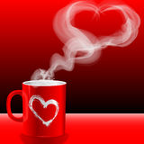 Love's cup Royalty Free Stock Photography