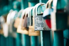 Love`s locks! Royalty Free Stock Image