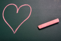 Love in school Royalty Free Stock Photo