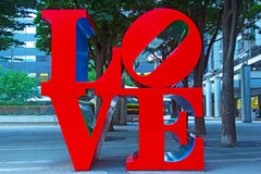 Love sculpture Royalty Free Stock Photos
