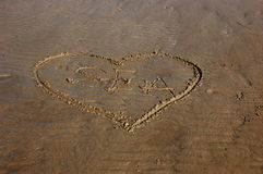 Love for the sea Royalty Free Stock Photography