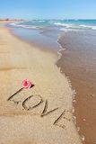 Love and the Sea Royalty Free Stock Photography
